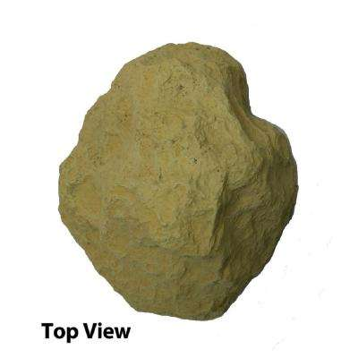 9 in. H x 13 in. W x 16 in. L Small Boulder Rock