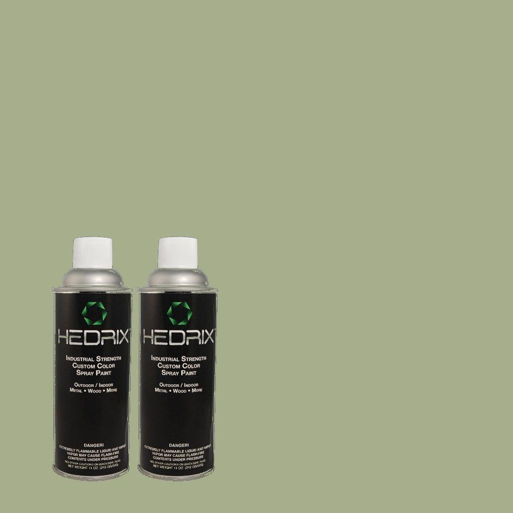 Hedrix 11 oz. Match of PPOC-70 Mystery Writer Gloss Custom Spray Paint (2-Pack)