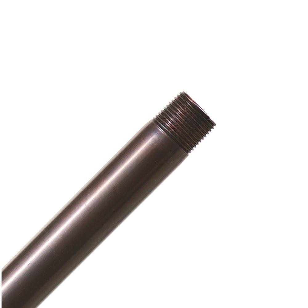 Casablanca Hang-Tru Perma Lock 36 in. Weathered Copper Extension Downrod-DISCONTINUED