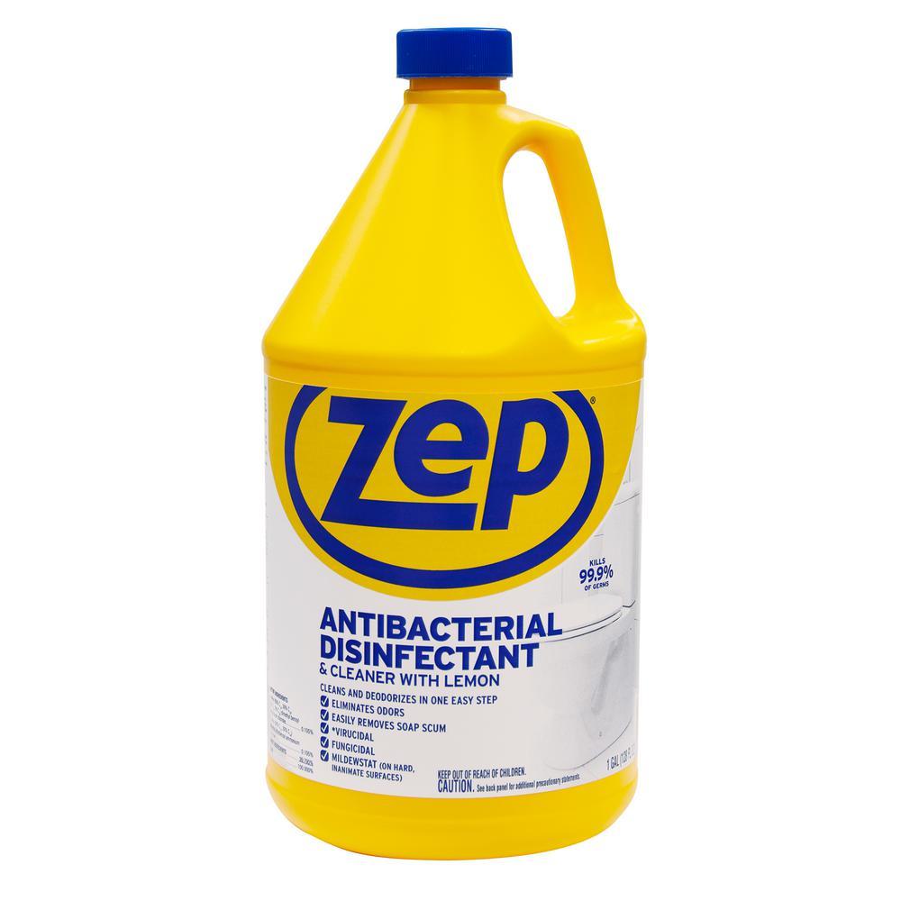 Zep 1 Gallon Antibacterial Disinfectant Cleaner Zubac128