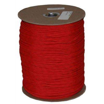 1000 ft. Paracord Spool in Red