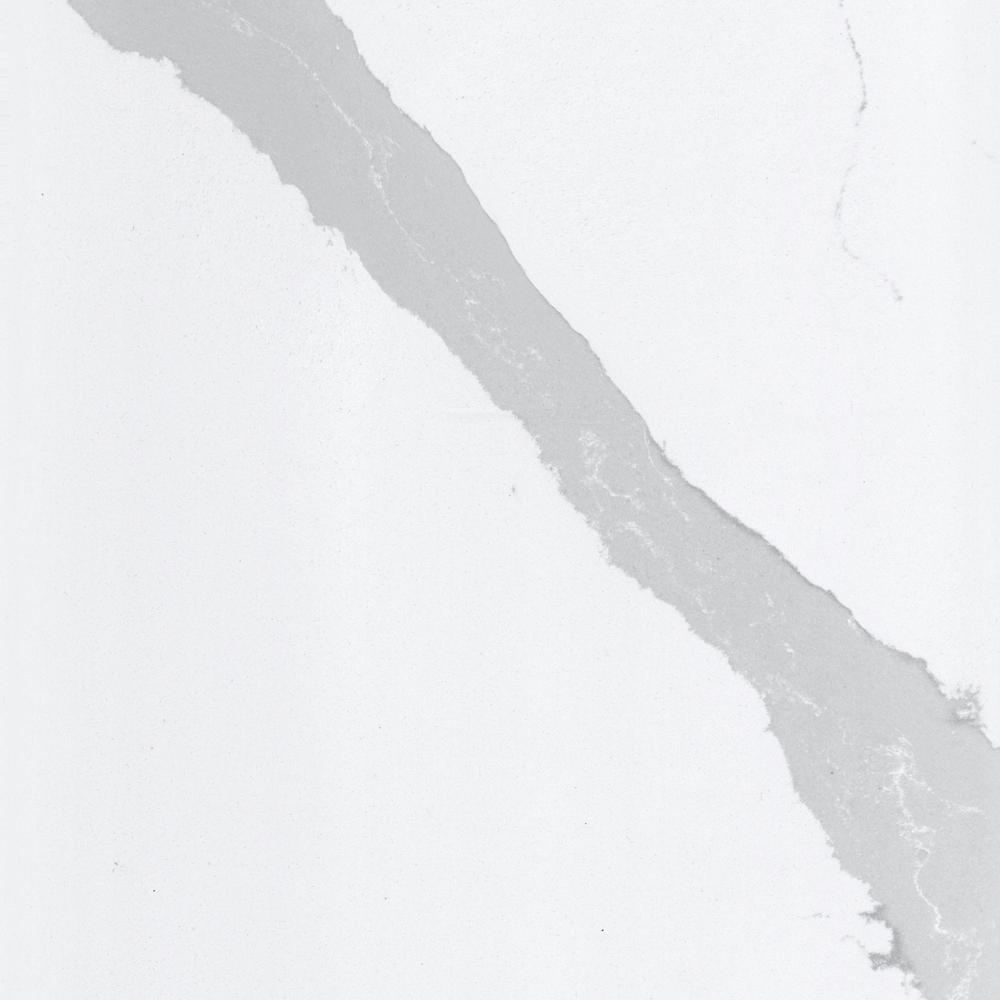 Silestone 4 In X 8 In Quartz Countertop Sample In Bianco