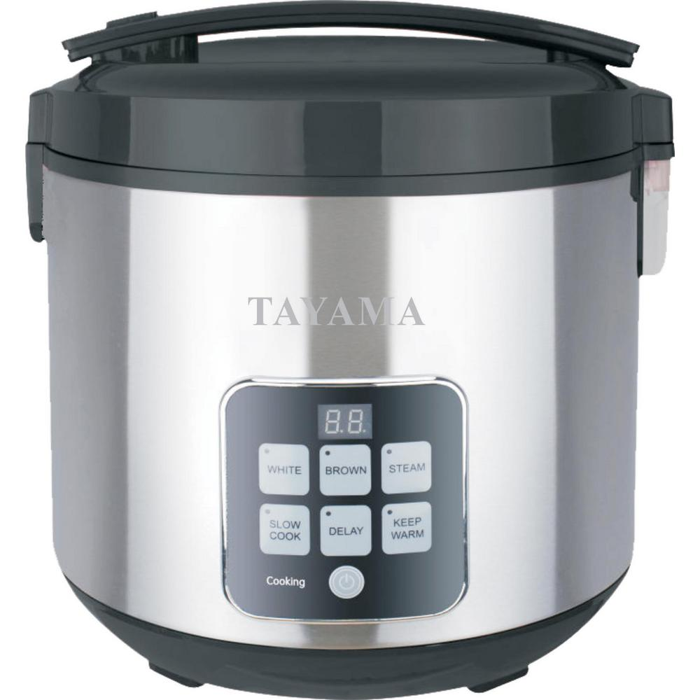 Kitchen Living Food Steamer: Tayama MICOM 10-Cup Rice Cooker-TRC-50H1