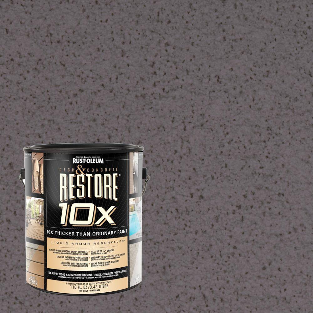 Rust-Oleum Restore 1-gal. Kensington Deck and Concrete 10X Resurfacer