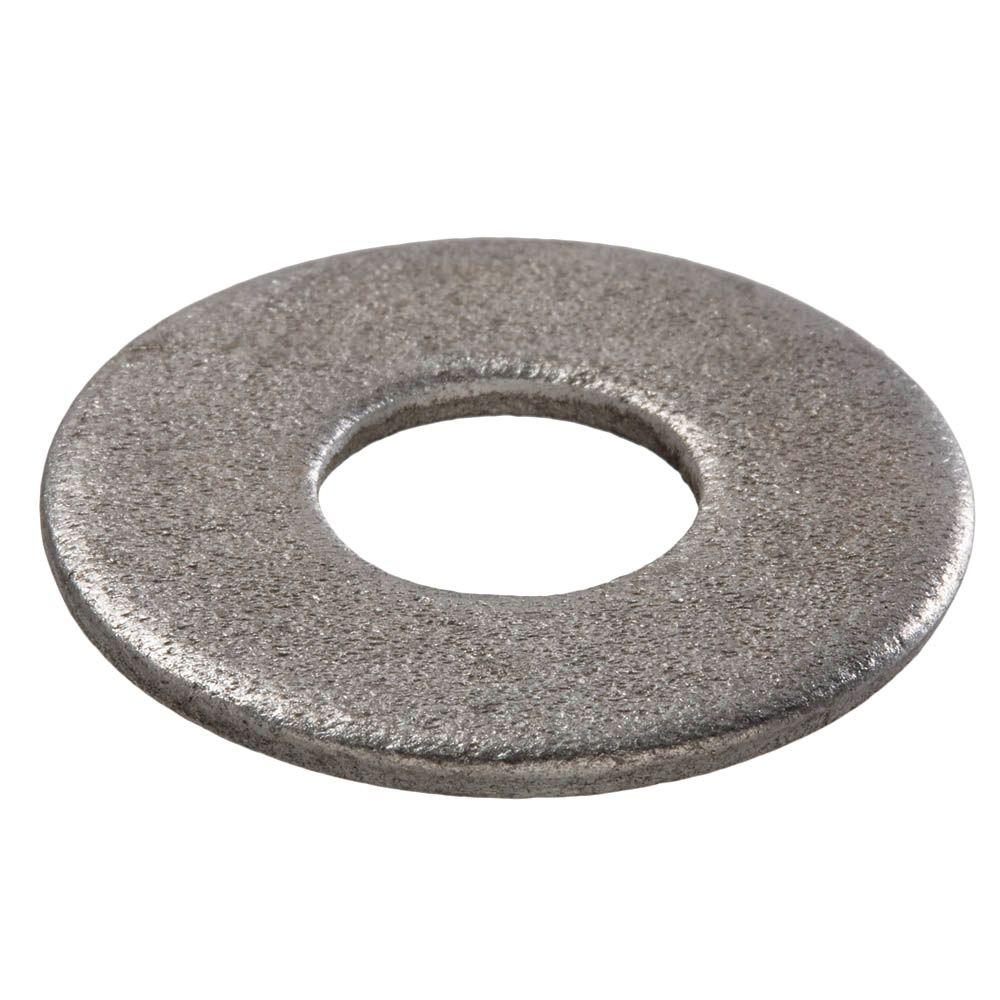 Everbilt 1/2 in. Galvanized Flat Washer (25 per Bag)
