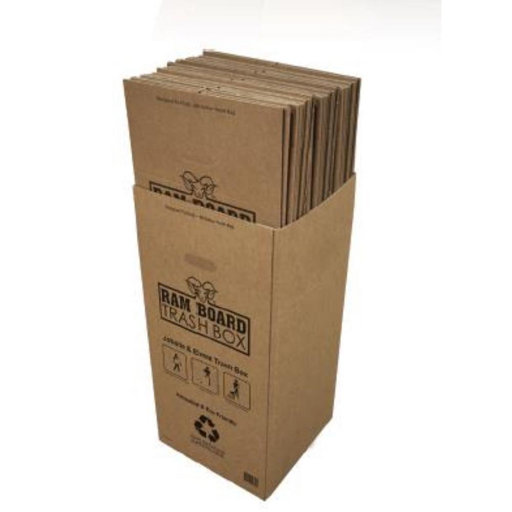 50 gal. Disposable Trash Box (3 per Carton)