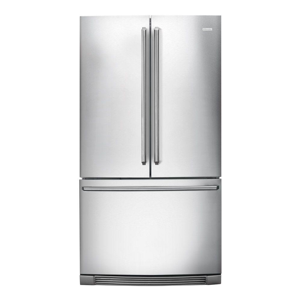 Electrolux IQ-Touch 22.19 cu. ft. French Door Refrigerator in Stainless Steel, Counter Depth