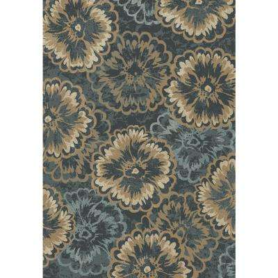 Melody Anthracite 9 ft. 2 in. x 12 ft. 10 in. Indoor Area Rug