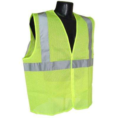Class 2 Large Green Mesh Safety Vest