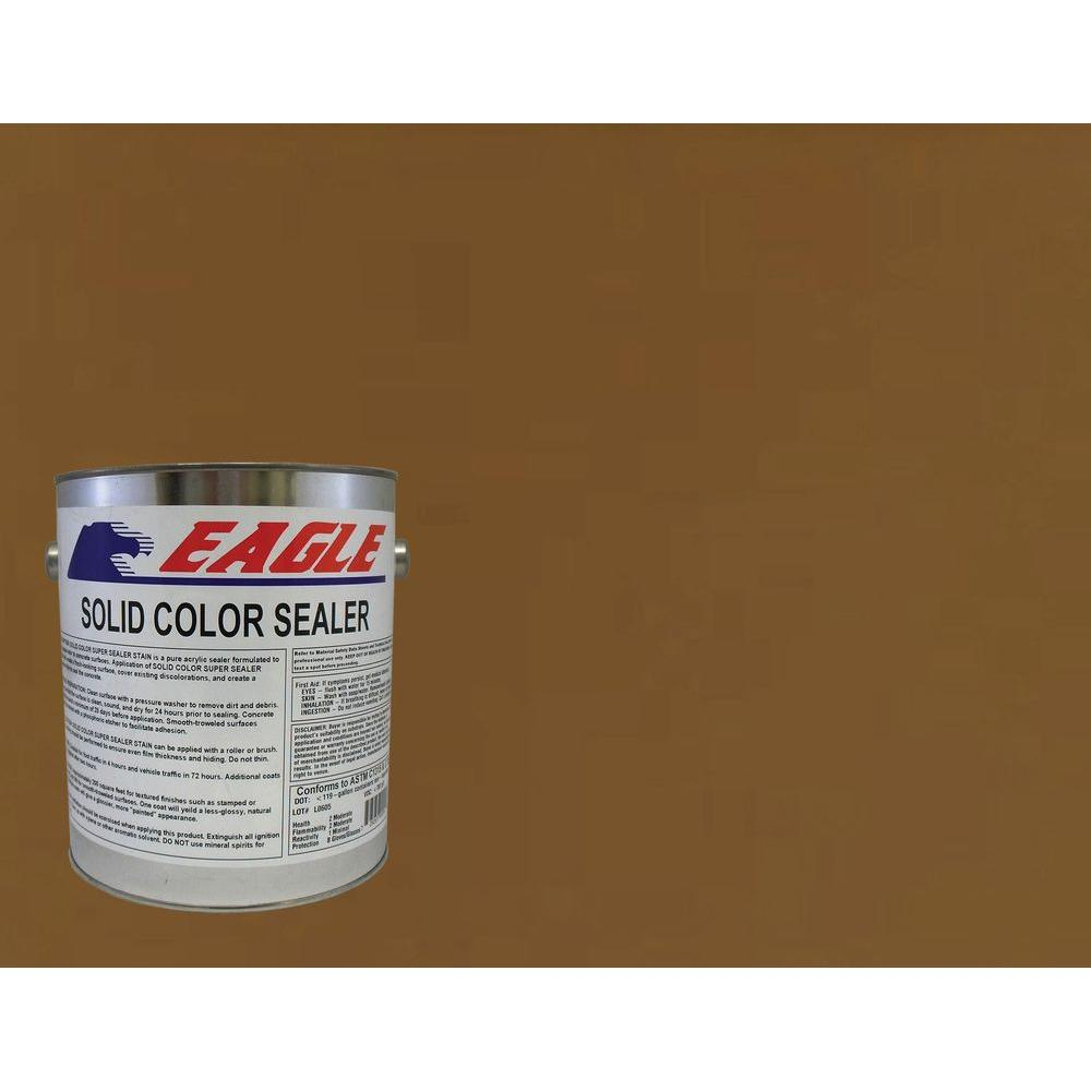 1 gal. Cedar Brown Solid Color Solvent Based Concrete Sealer