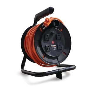 Generac 50 ft. Cord Reel with 4 Outlets by Generac