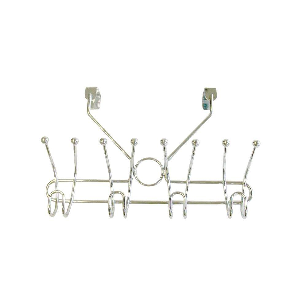 Taymor 4 Prong double Robe Hook in Satin Nickel (Over the...
