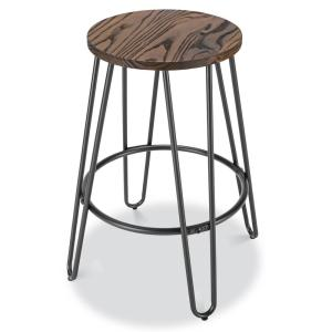 Magnificent Poly And Bark Kasey Walnut And Charcoal Grey Counter Stool Gmtry Best Dining Table And Chair Ideas Images Gmtryco