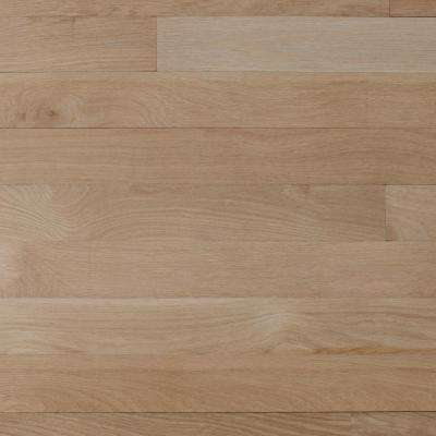 Select White Oak 3/4 in. Thick x 2-1/4 in. Wide x Varying Length Solid Hardwood Flooring Board (19.5 sq. ft. / case)