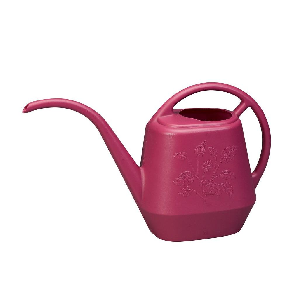 0.28 Gal. Union Red Aqua-Rite Watering Can