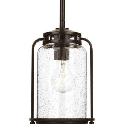 Botta Collection 1-Light Antique Bronze Hanging Lantern