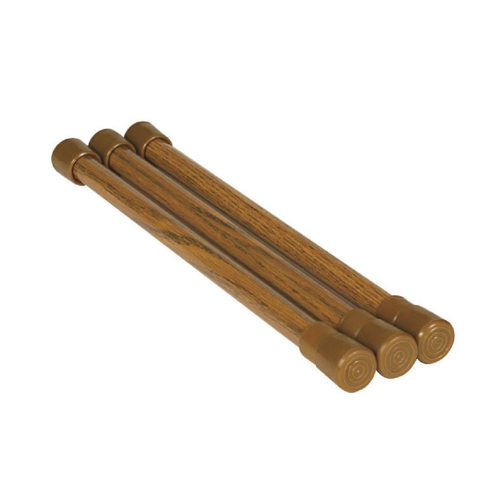 Cupboard Bars Oak (3 per Pack)