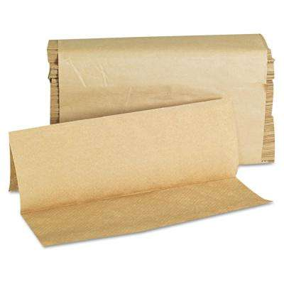 Natural Multi-Fold Paper Towel (250-Towel/Pack, 16-Packs/Carton)