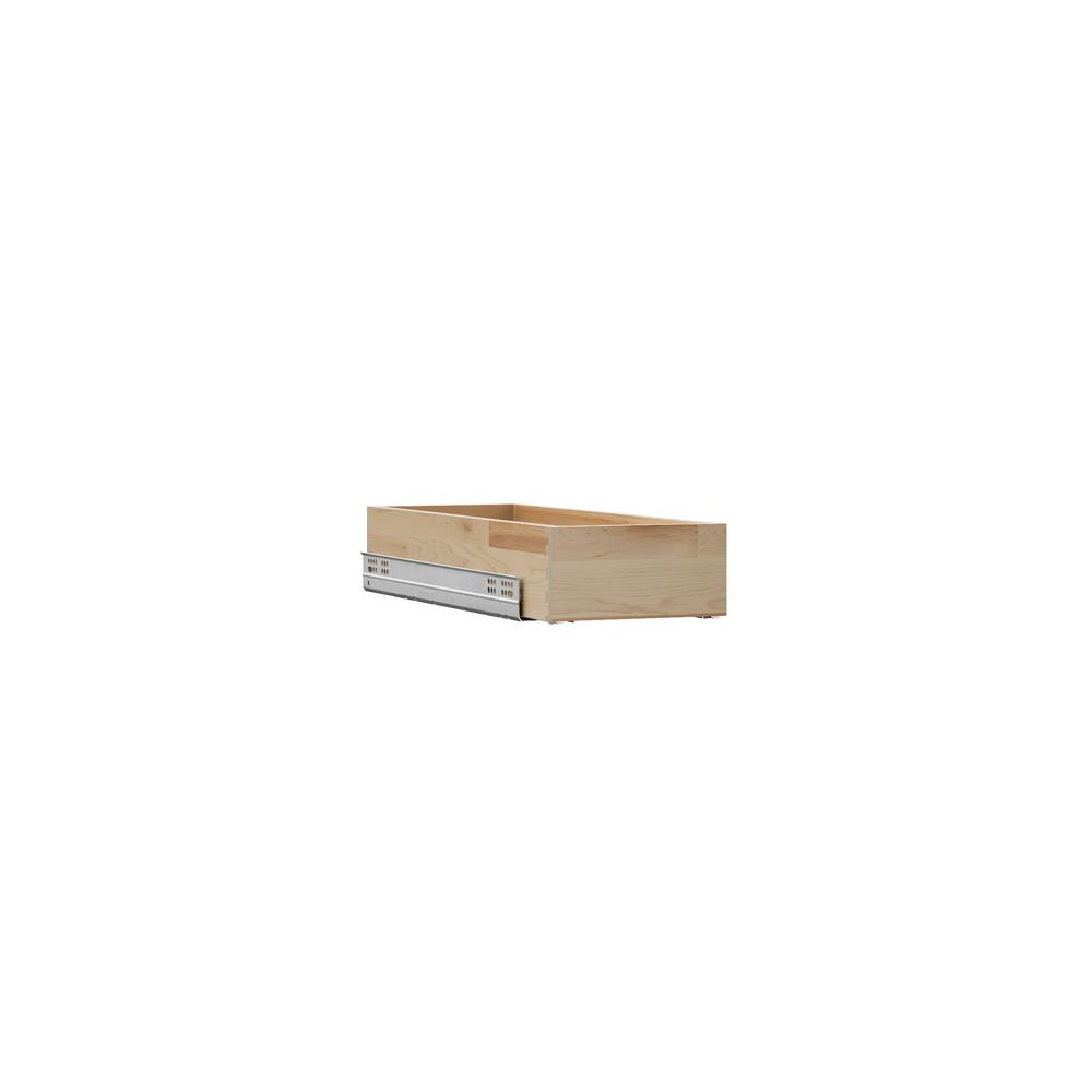 Pull Out Drawer Kitchen Cabinet Specs: Hampton Bay Designer Series 7.75 In.x4.25 In.x19.75 In