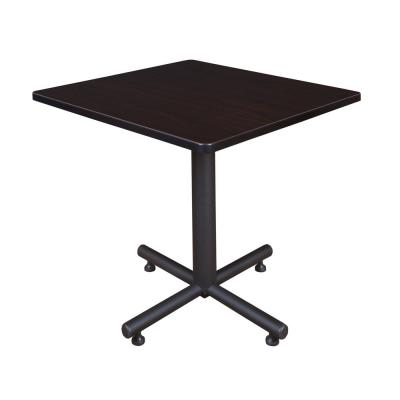 Kobe Mocha Walnut 30 in. Square Breakroom Table