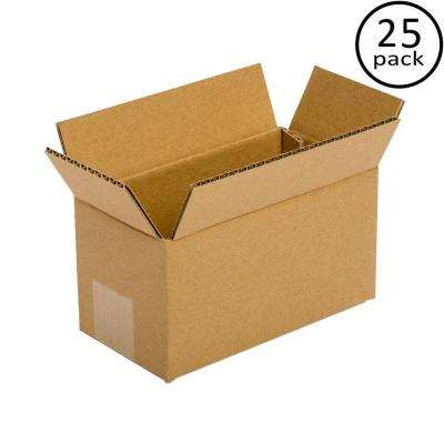 9 in. x 6 in. x 6 in. 25 Moving Box Bundle