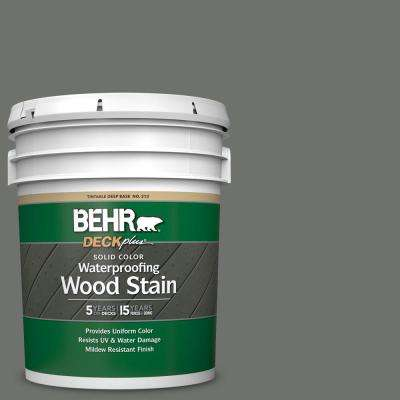 5 gal. #SC-131 Pewter Solid Color Waterproofing Exterior Wood Stain
