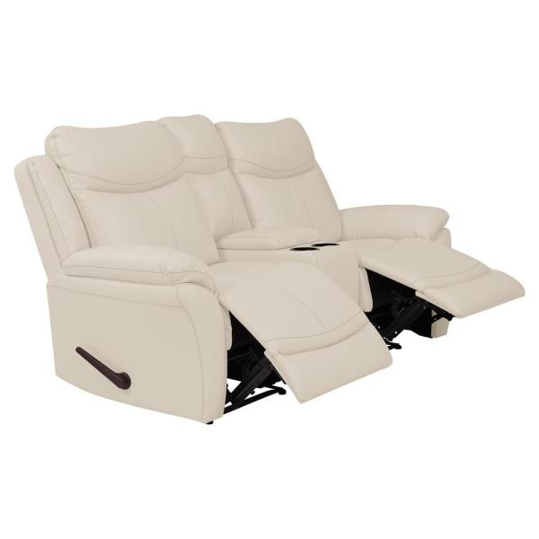 Admirable Prolounger Off White Almond Tuff Stuff Fabric 2 Seat Wall Evergreenethics Interior Chair Design Evergreenethicsorg