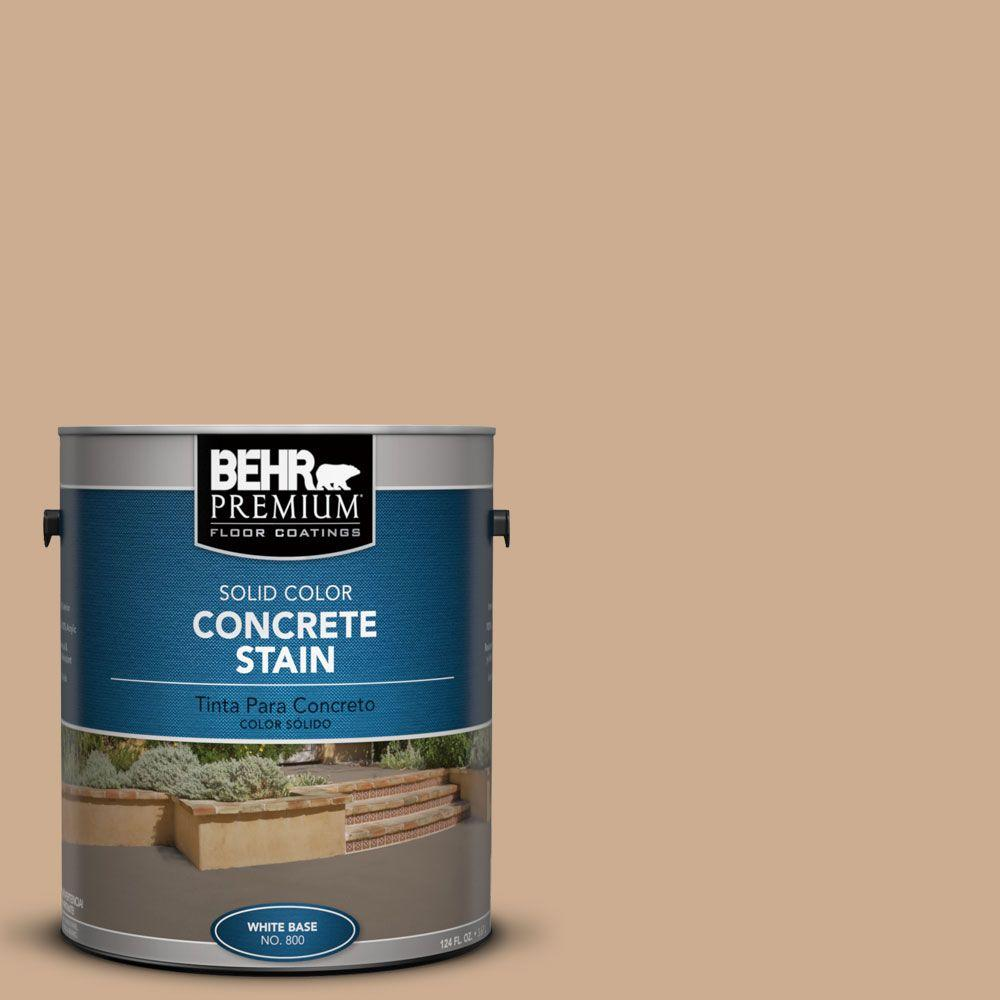 1 gal. #PFC-23 Tan Solid Color Interior/Exterior Concrete Stain