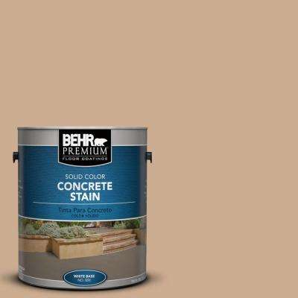 1 gal. #PFC-23 Tan Solid Color Interior/Exterior Concrete Stain