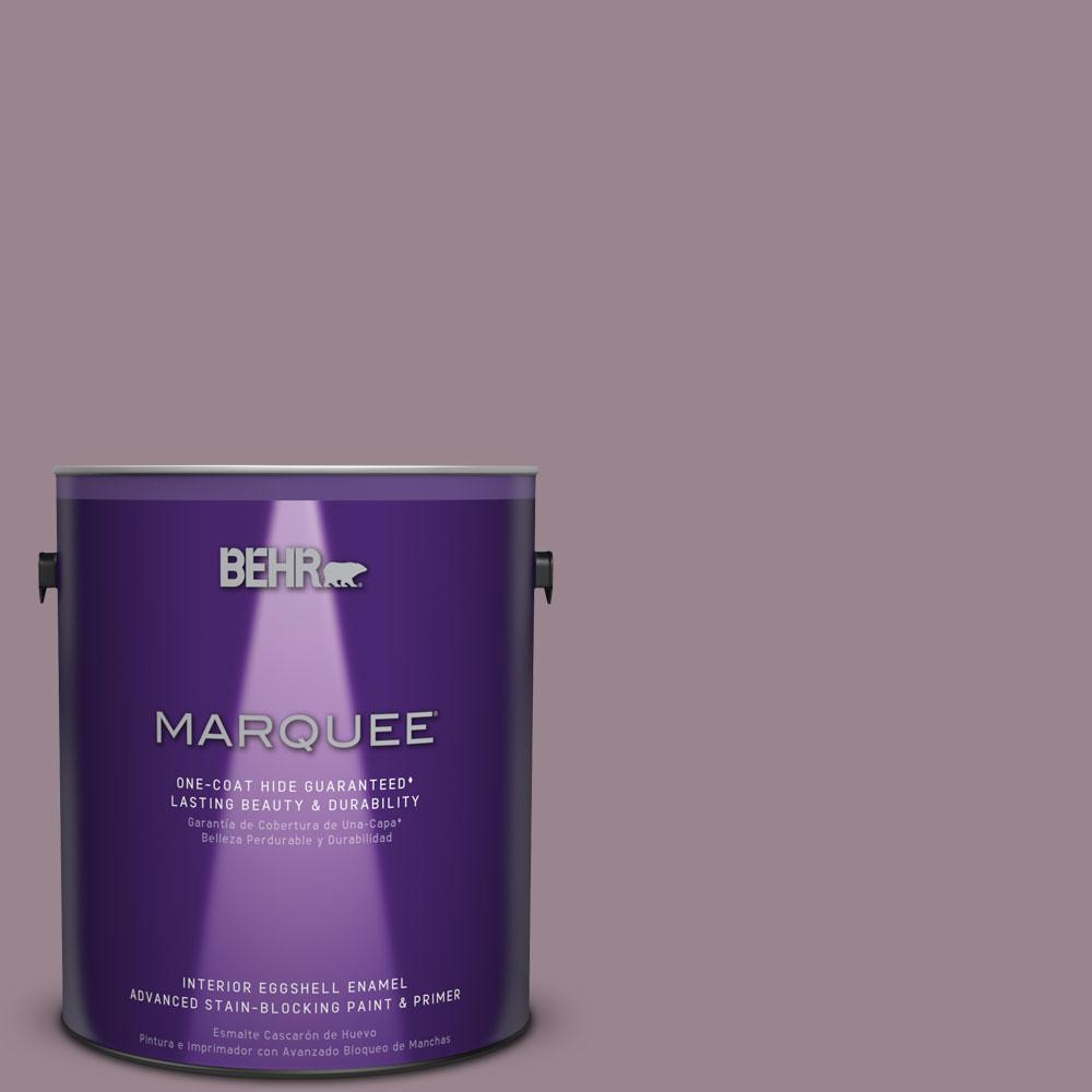 1 gal. #HDC-CL-05 Orchard Plum One-Coat Hide Eggshell Enamel Interior Paint