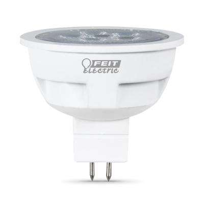 50W Equivalent Warm White (3000K) MR16 GU5.3 Bi-Pin LED 12-Volt Landscape Garden Light Bulb