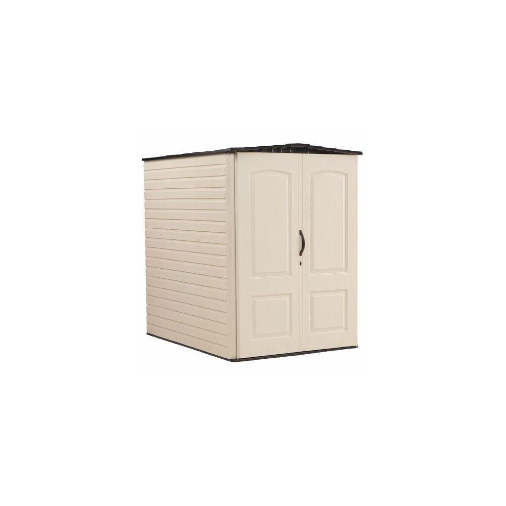 Rubbermaid 6 Ft 3 In X 4 8 Large Vertical Resin Storage Shed