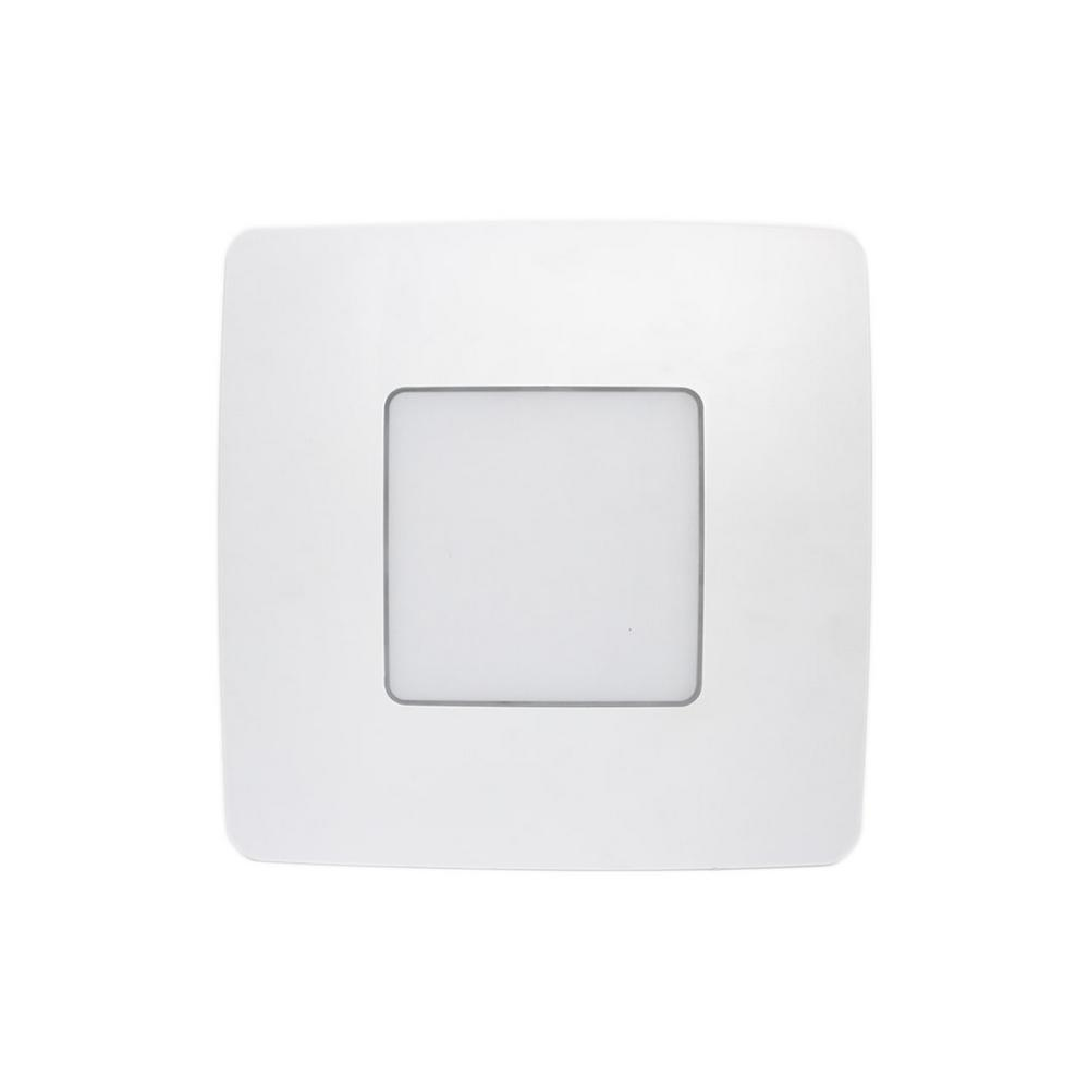 ReVent 110 CFM Easy Installation Bathroom Exhaust Fan with LED LIghting