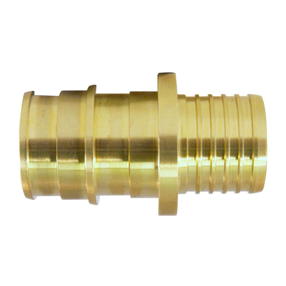 Apollo 1 2 in brass pex a expansion barb x polybutylene for Types of pex