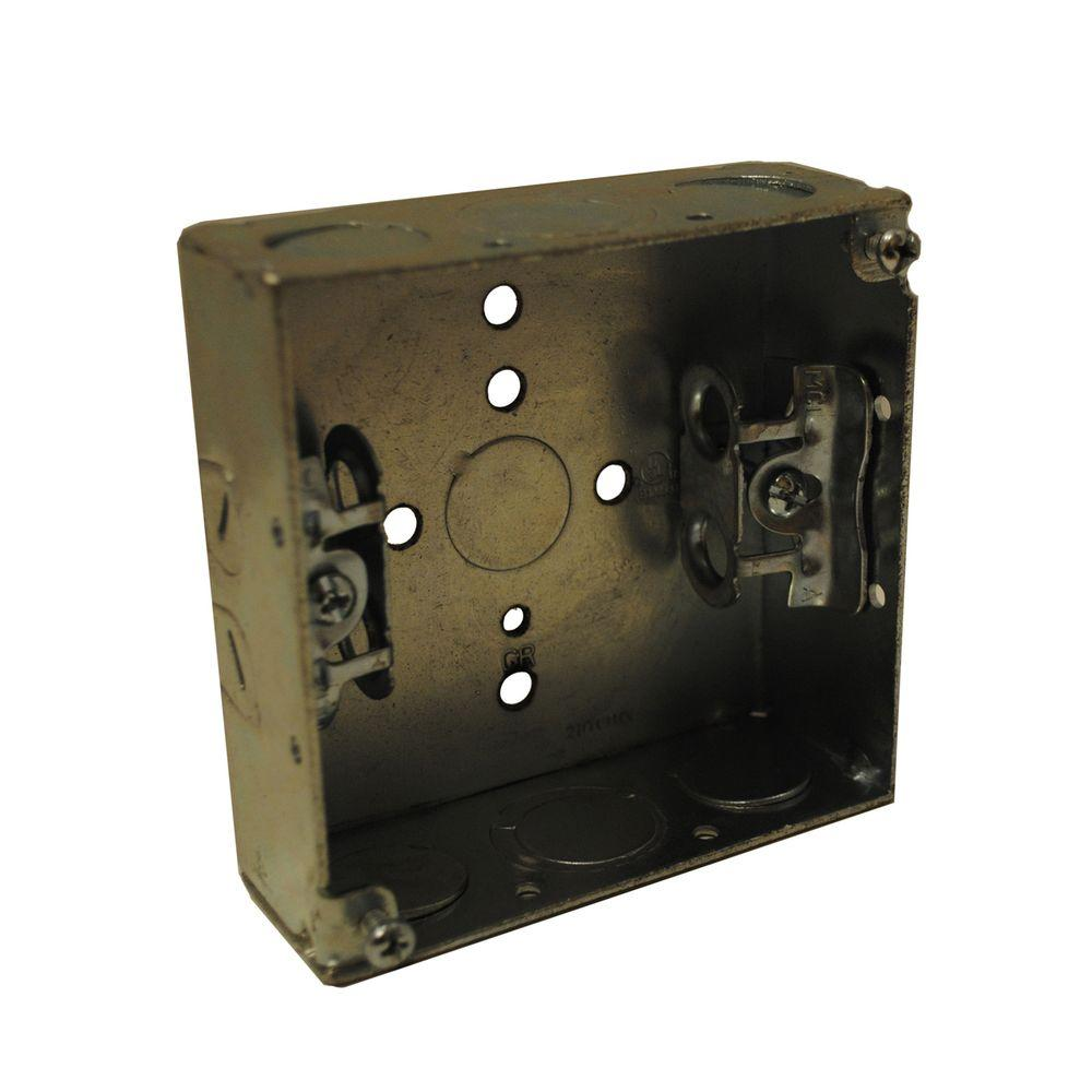 null 4 in. Square Welded Box (5-Pack)