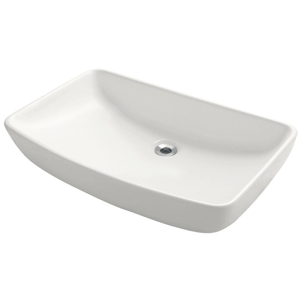MR Direct Porcelain Vessel Sink in Bisque