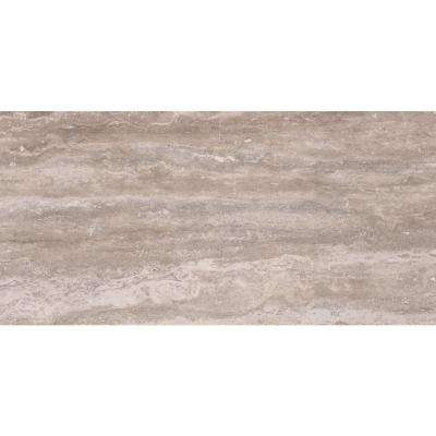 Travertino Beige 24 in. x 24 in. Glazed Porcelain Floor and Wall Tile (16 sq. ft. / case)