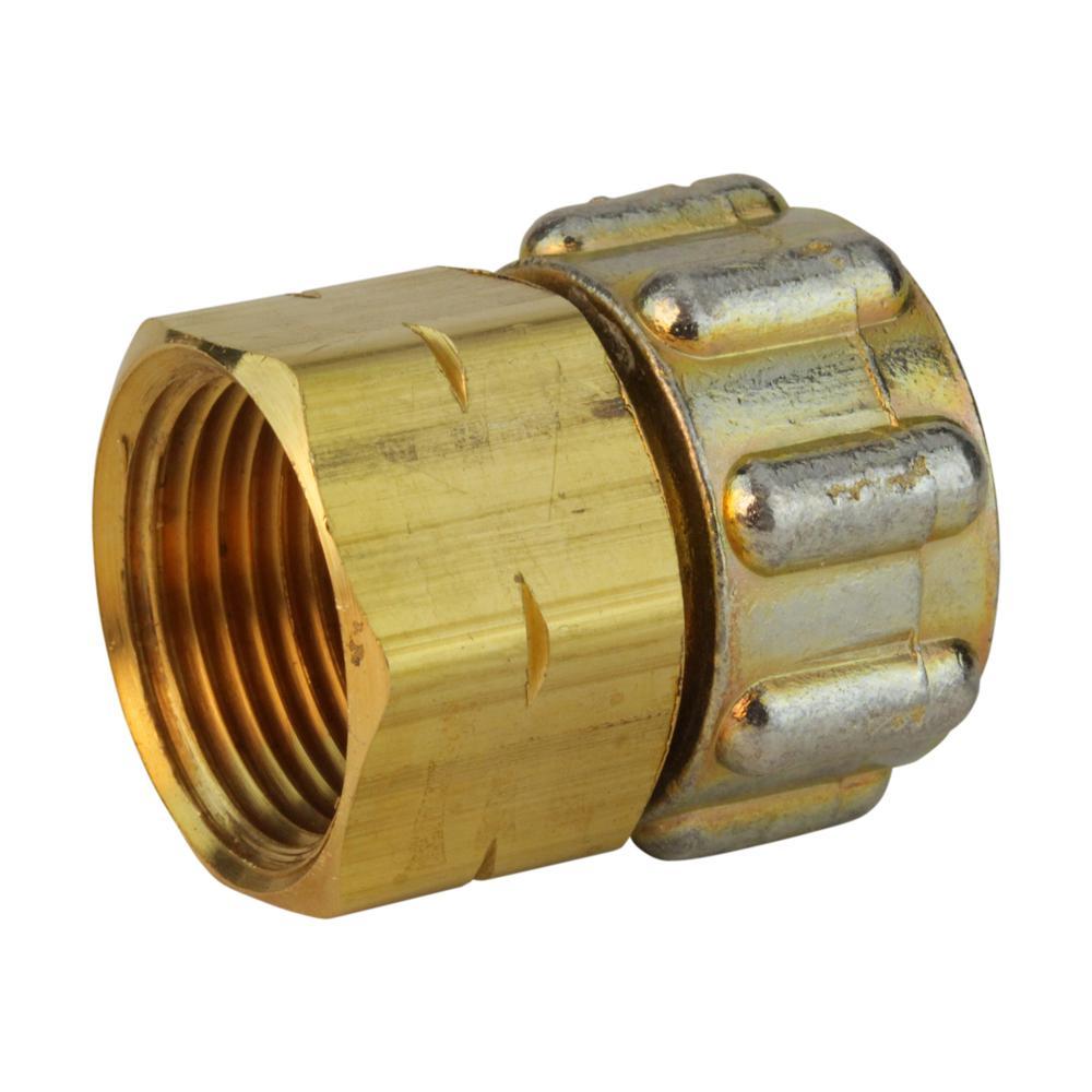 Lead-Free Brass Garden Hose Swivel 3/4 in. FGH