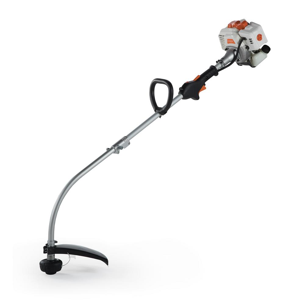 2-Cycle 26 cc Curved Shaft Gas String Trimmer and Brush Cutter
