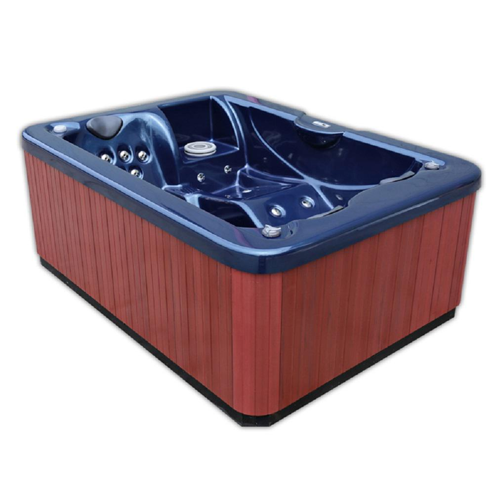Home and Garden Spas X-2 3-person 31-Jet Spa with LED lighting and ...