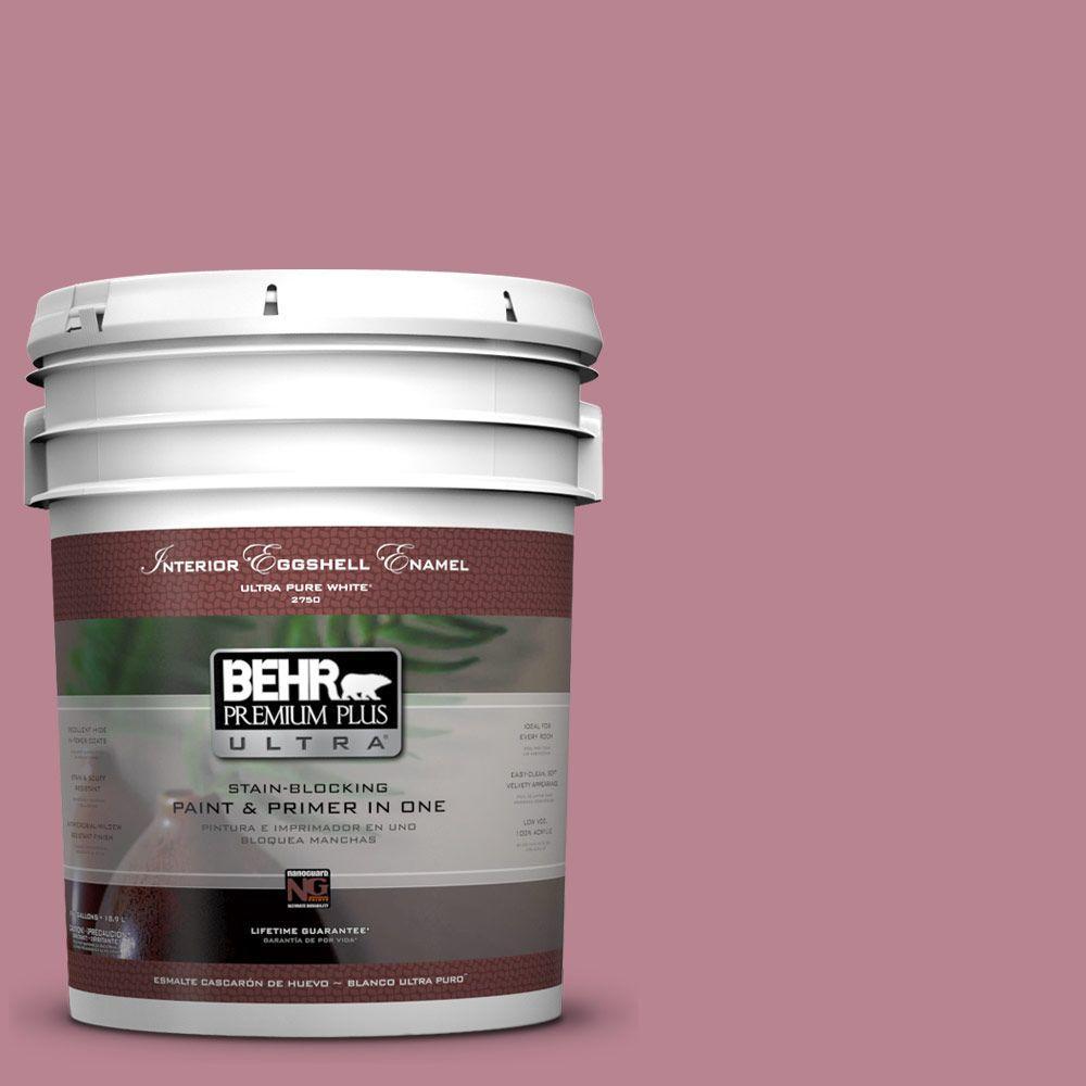 5-gal. #BIC-19 Berry Blush Eggshell Enamel Interior Paint
