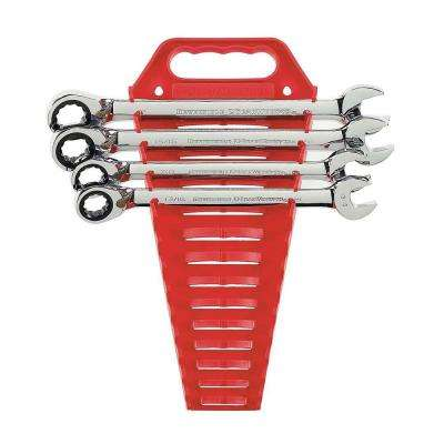 Reversible Ratcheting Combination Wrench Set (4-Piece)