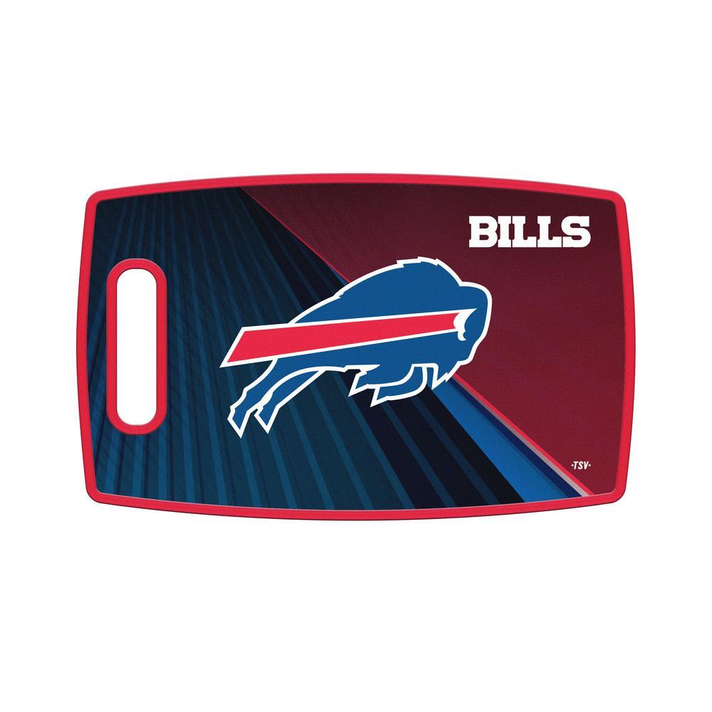 Buffalo Bills Large Plastic Cutting Board