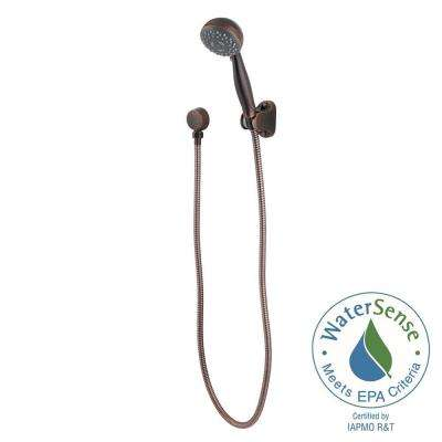 3-Spray Hand Shower in Rustic Bronze