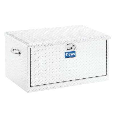 38 in. Aluminum Chest with 2 Drawer Slides