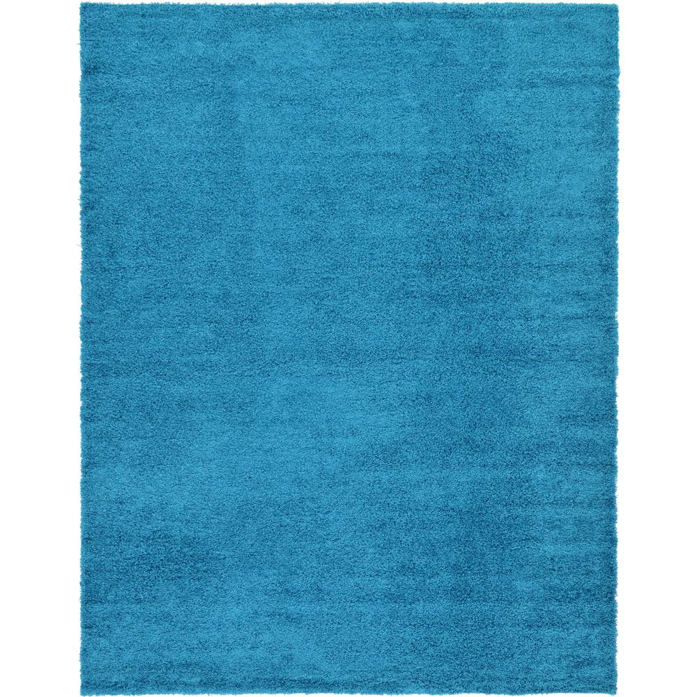 Linoleum Rug Turquoise Terracotta Area Rug Or Kitchen Mat: Unique Loom Solid Shag Turquoise 10 Ft. X 13 Ft. Area Rug