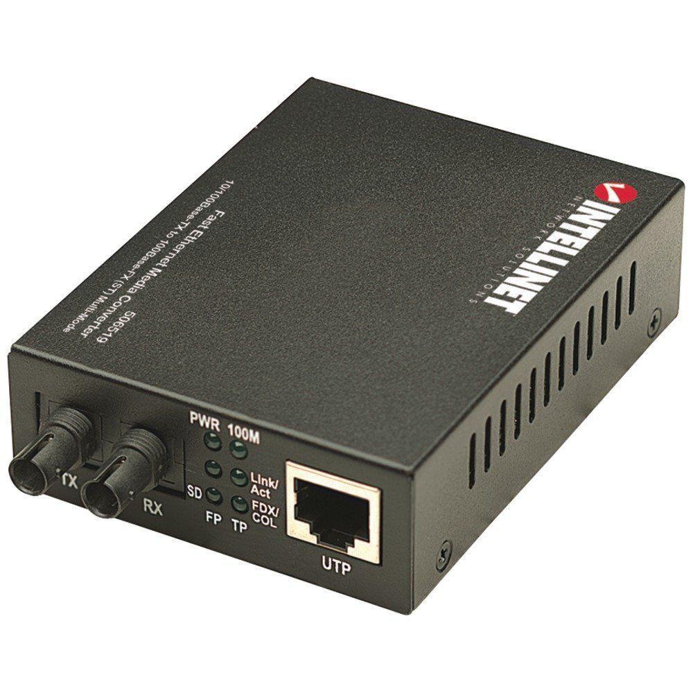 Intellinet Ethernet ST Media Coverter
