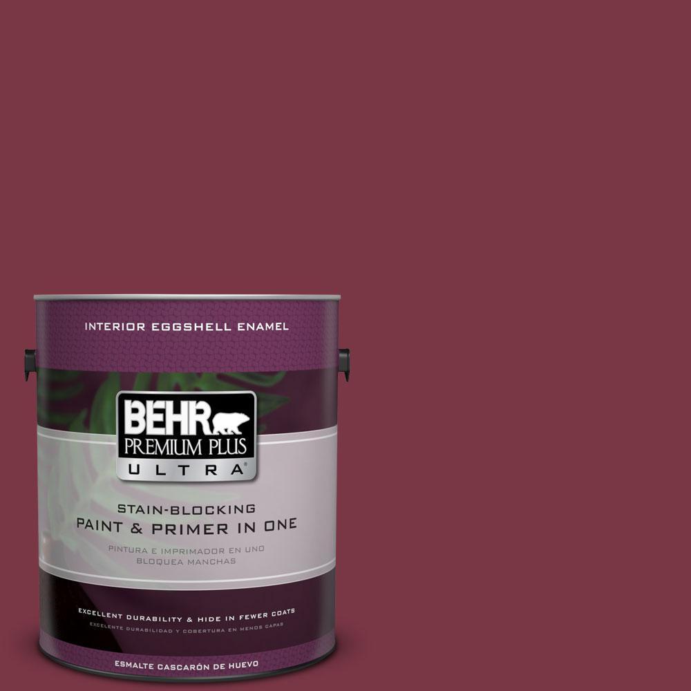 BEHR Premium Plus Ultra 1-gal. #S-H-110 Wine Tasting Eggshell Enamel Interior Paint
