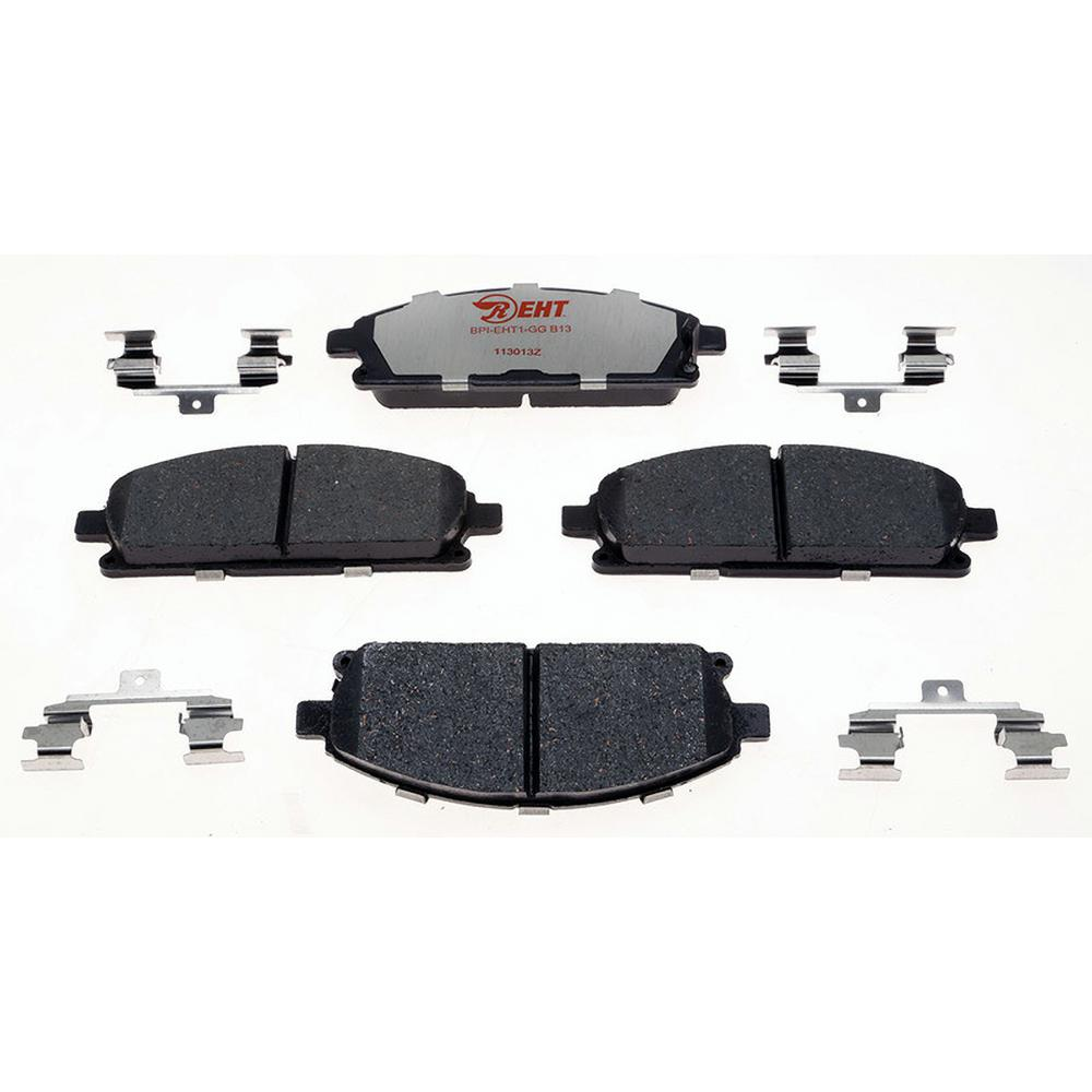 Front Ceramic Brake Pad Set Fits 2003-2006 Acura MDX 2002-2004 Nissan Pathfinder