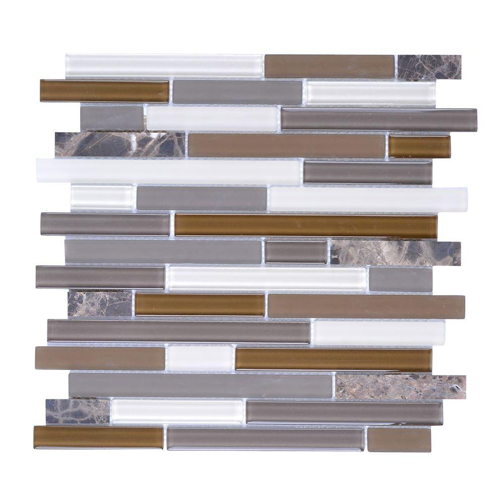 Instant mosaic upscale designs mesh mounted glass and for Installing glass tile with mesh back